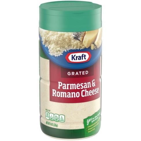 Kraft 100% Grated Parmesan & Romano Cheese 8oz - image 1 of 4