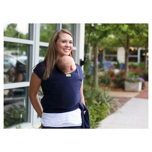 9c55b2a3bad Boba Wrap Classic Baby Carrier - Navy Blue   Target