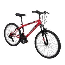 "Huffy Highland 24"" Youth Mountain Bike - Red"