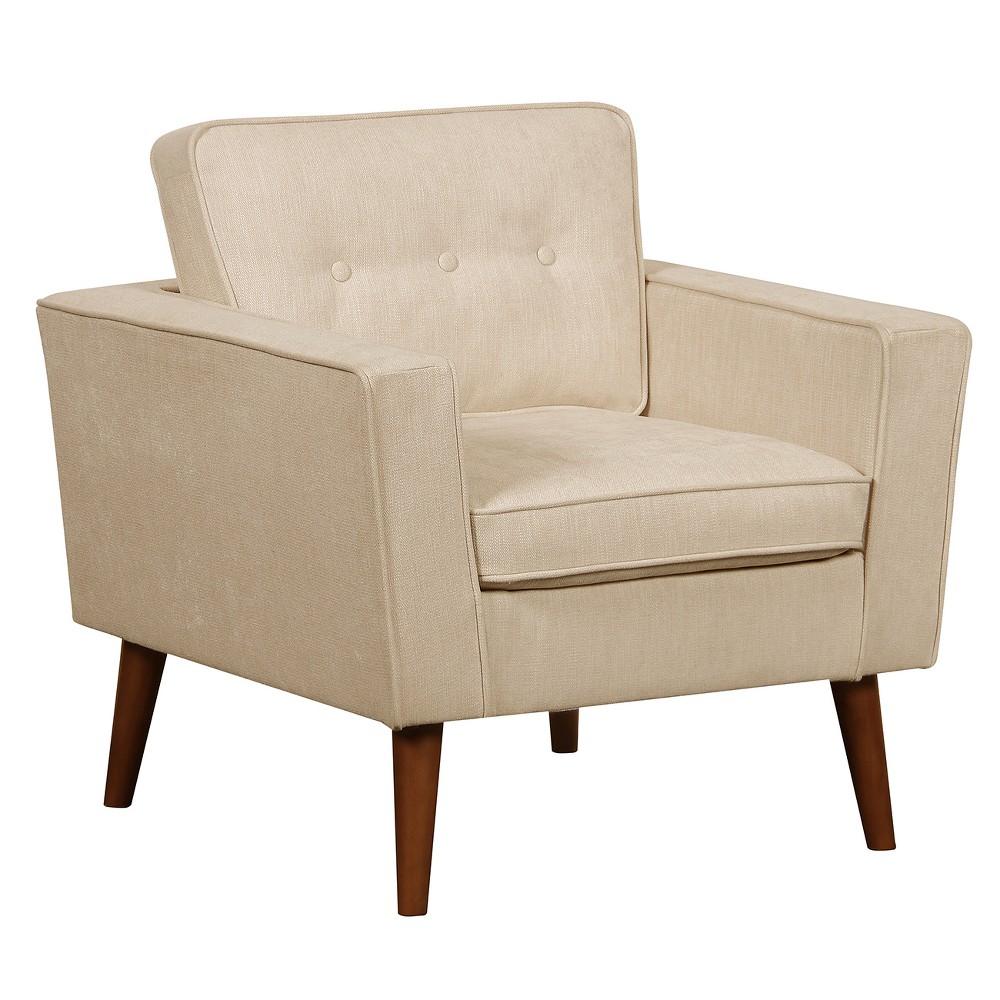 Cosgrove Beige Accent Chair - Beige - Pulaski