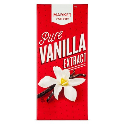 Pure Vanilla Extract - 2oz - Market Pantry™