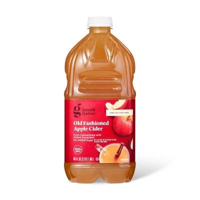Old Fashioned Apple Cider - 64 fl oz Bottle - Good & Gather™