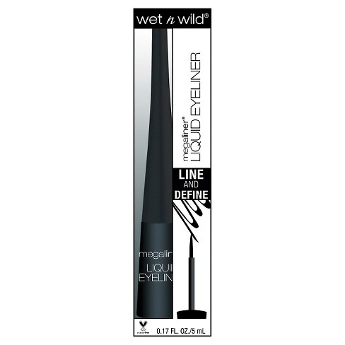 Wet n Wild® Megaliner® H2O Proof Liquid Eyeliner - 871A Black - 0.17oz - image 1 of 1