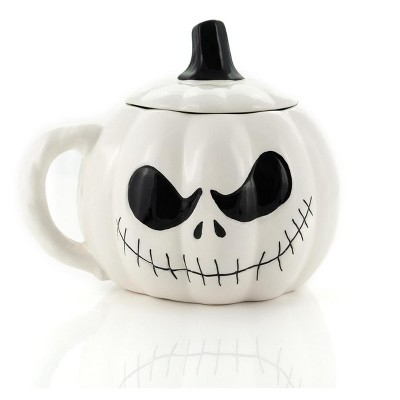 Seven20 Nightmare Before Christmas Jack Skellington Spooky Figural 24 Oz Mug With Lid