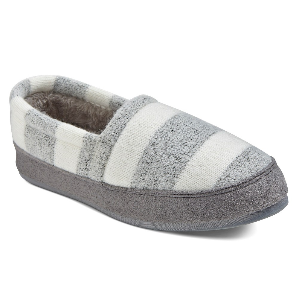 Women's Comfy by Daniel Green Moccasin Slippers - Gray 11