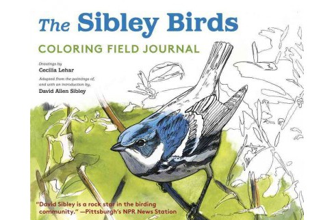 Sibley Birds Coloring Field Journal - image 1 of 1