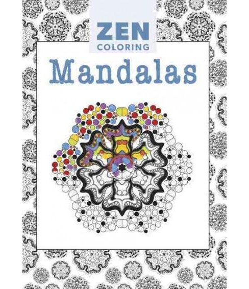 Mandalas Adult Coloring Book - image 1 of 1