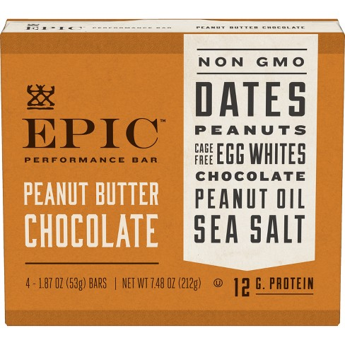 EPIC Peanut Butter Chocolate Bars - 7 48oz