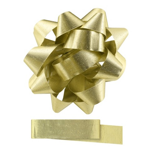 Gold Gift Bow - Spritz™ - image 1 of 2