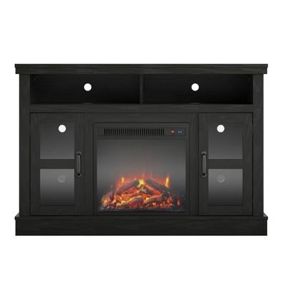 "54"" Naples Corner Tv Stand with Fireplace - Room & Joy"