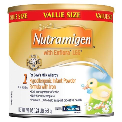 Enfamil 4pk Nutramigen with Enflora LGG Infant Formula Powder - 19.8oz - image 1 of 2