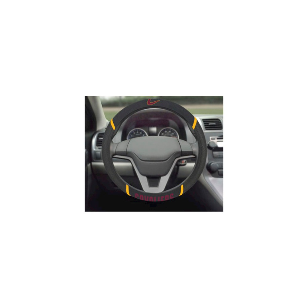 NBA Fan Mats Steering Wheel Cover - Cleveland Cavaliers