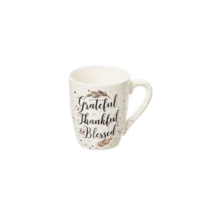 C&F Home Grateful, Thankful, Bless Mug