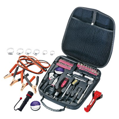 Apollo 64 Piece Travel and Automotive Tool Kit