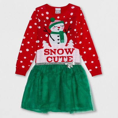 Snow Sweater Dress