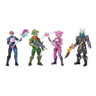 Fortnite Squad Mode Core Figure 4 pk