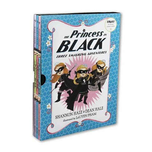 Princess in Black : Three Smashing Adventures -  Reprint by Shannon Hale & Dean Hale (Paperback) - image 1 of 1