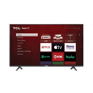 "TCL 55"" Class 4-Series 4K UHD HDR Smart Roku TV – 55S425"