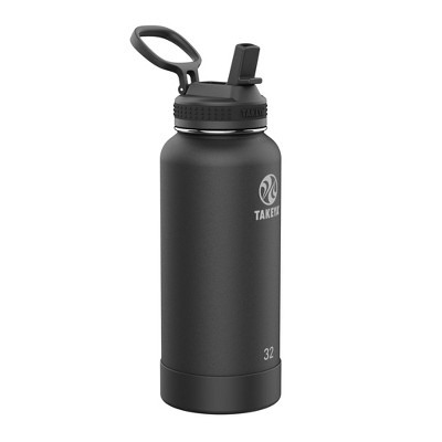 Takeya 32oz Actives Pickleball Insulated Stainless Steel Water Bottle with Sport Straw Lid