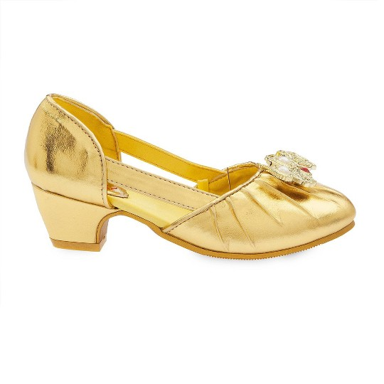 Disney Princess Belle Kids' Dress-Up Shoes - Size 9-10 - Disney store, Yellow image number null