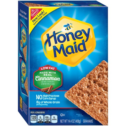 Honey Maid Low Fat Cinnamon Graham Crackers 14 4oz Tar