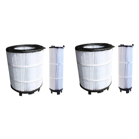 Sta-Rite 3 Large Outer Pool Filter (2 Pack) + 3 Small Inner Pool Filter (2 Pack) - image 1 of 4