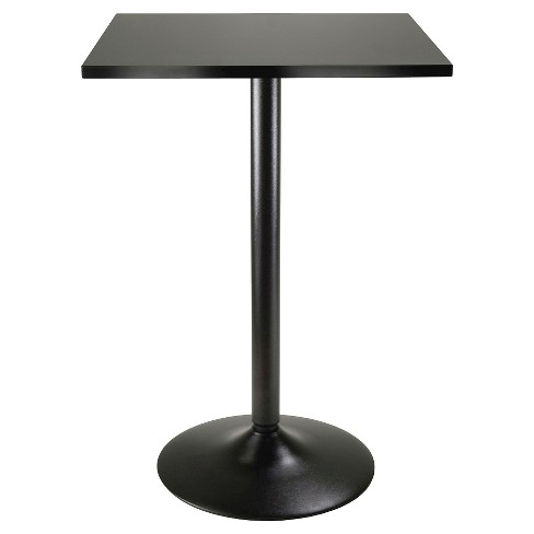 Obsidian Counter Height Pub Table Wood/Black - Winsome - image 1 of 2