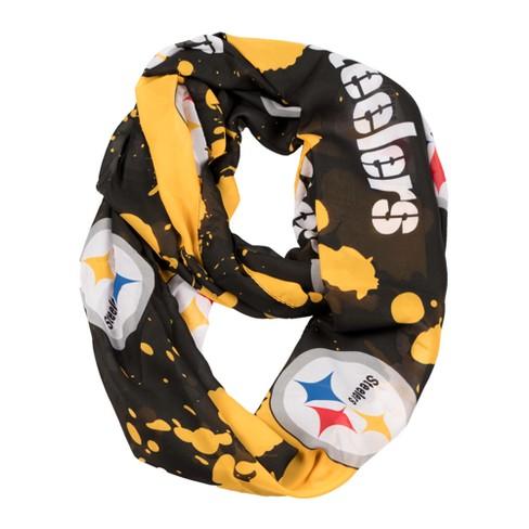 ebcc4a4f NFL Pittsburgh Steelers Infinity Scarf