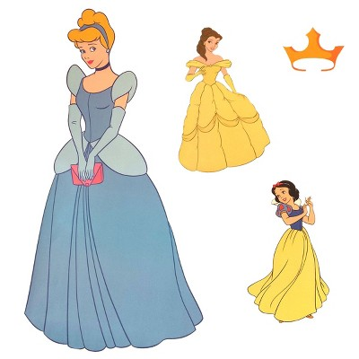 Disney Cinderella Accent Sticker Princess Friend Wall Decals - Disney Princess..
