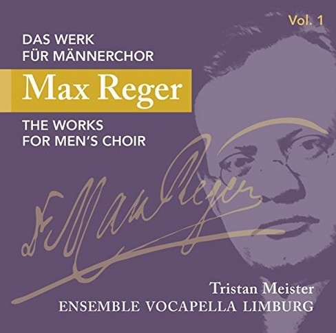 Ensemble Vocapella L - Reger:Works For Men's Choir Vol 1 (CD) - image 1 of 1