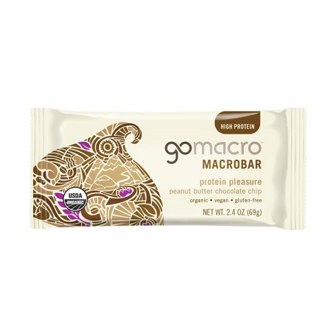 GoMacro Peanut Butter Chocolate MacroBar - 2.4oz - image 1 of 3
