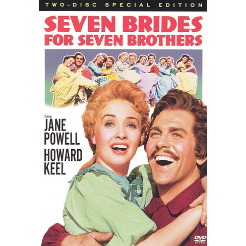 Seven Brides for Seven Brothers (50th-Anniversary Special Edition) (2 Discs) (dvd_video) - image 1 of 1