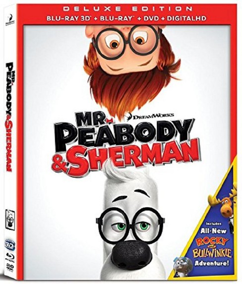 Mr. Peabody & Sherman [Includes Digital Copy] [3D/2D] [Blu-ray/DVD] - image 1 of 1