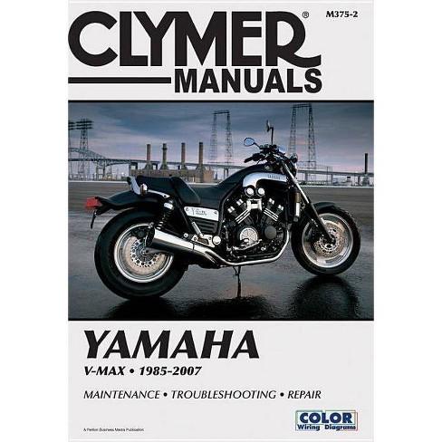 Yamaha Vmx1200 V-Max 1985-2007 - (Clymer Manuals: Motorcycle Repair) 2 Edition by  Penton (Paperback) - image 1 of 1