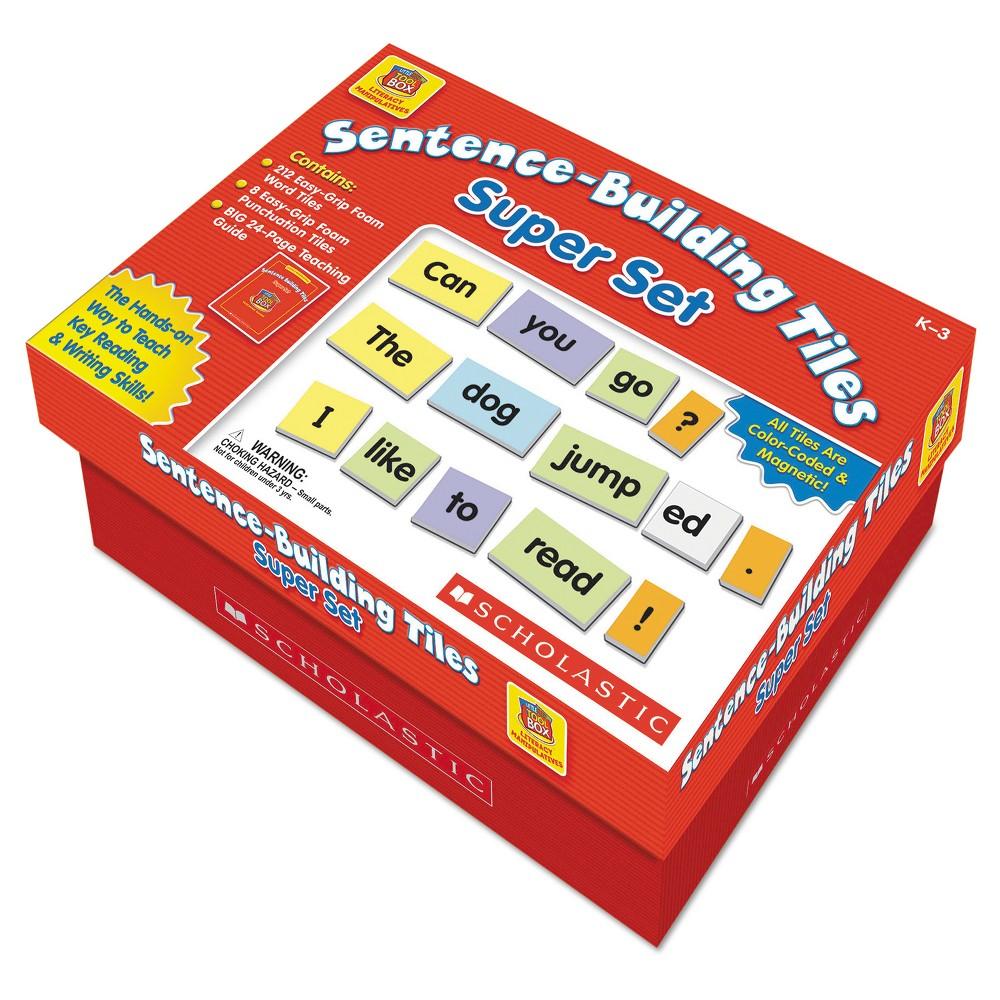 Scholastic Sentence-Building Tiles Super Set, Ages 5-8