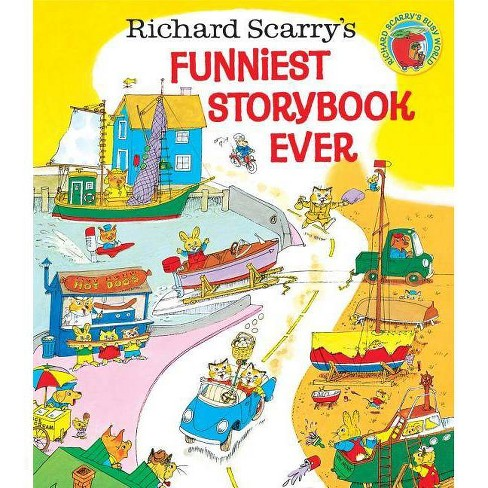 Richard Scarry's Funniest Storybook Ever! - (Hardcover) - image 1 of 1
