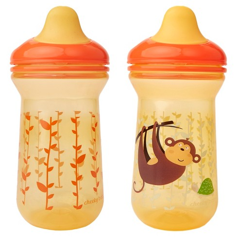 Cheeky® Baby Sippy Cups - Monkey -2ct - image 1 of 4