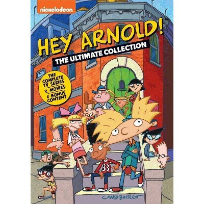 Hey Arnold! The Ultimate Collection (DVD)(2021)
