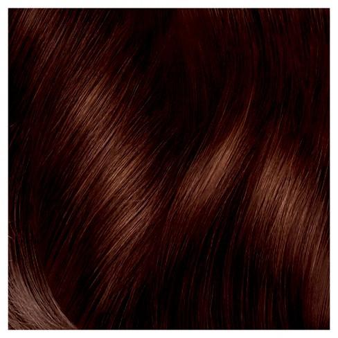 Dark Auburn Hair Color Chart Live Colour Dye From Schwarzkopf