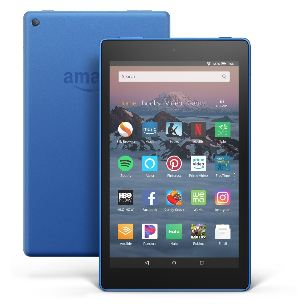 Fire HD 8 Tablet 8 HD Display, 16 GB, Blue (with Special Offers)