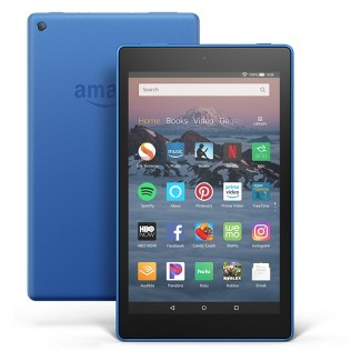 "Fire HD 8 Tablet 8"" HD Display, 16 GB, Blue (with Special Offers)"