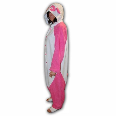 Costume Evolution Pink Panda Kigurumi Cushzilla Animal Adult Anime Costume Pajamas - image 1 of 1