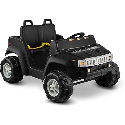 Kid Motorz 12V Hummer H2 Two Seater Powered Ride-On - Black
