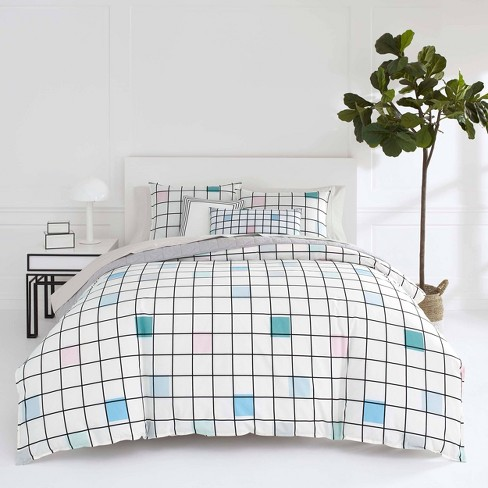 Now House by Jonathan Adler Paintbox Duvet Cover Set - image 1 of 4