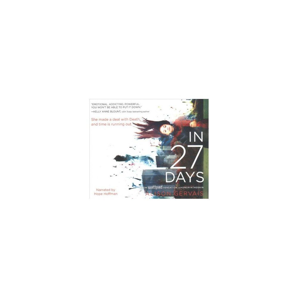 In 27 Days (MP3-CD) (Alison Gervais)