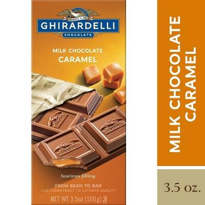 Ghirardelli Milk Chocolate & Caramel Bar - 3.5oz
