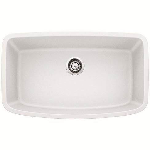 "Blanco 441773 Valea 32-1/4"" Silgranit Granite Composite Undermount Super Single Bowl Kitchen Sink"