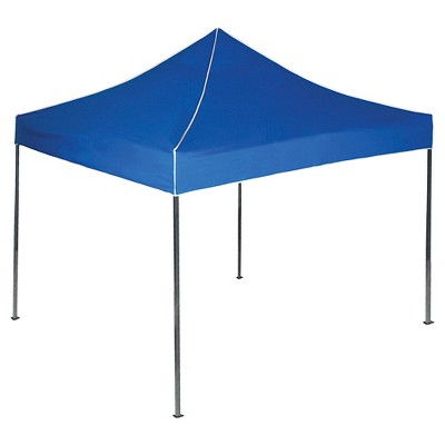 Stalwart Pop-Up Instant Canopy Tent - Blue (10' x 10')