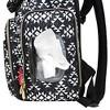 Fisher-Price Shiloh Southwest Diaper Bag Backpack - Black/White - image 4 of 4
