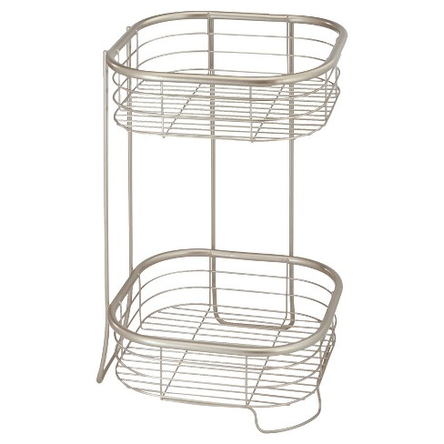 """Free Standing or Shower Storage Shelves- Square 15""""x9""""x9"""" - InterDesign - image 1 of 4"""